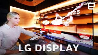 LG Display's transparent OLED screens and bendable TV at CES 2021