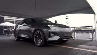 Byton Concept EV first ride