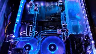 Water Cooled PS4 Pro